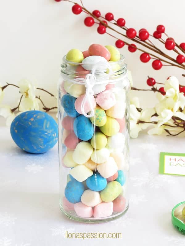 """Free Printable Easter Tags - Free colorful printable party tag for Easter """"Happy Easter"""" and a great gift ideas for holiday by ilonaspassion.com I @ilonaspassion"""