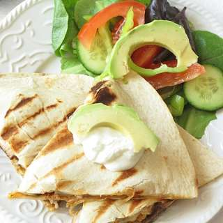 Easy Pork Quesadillas