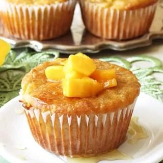 Banana Quinoa Mango Muffins