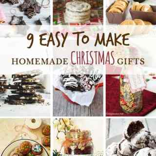 9 Easy to make Homemade and Edible Christmas Gifts on ilonaspassion.com