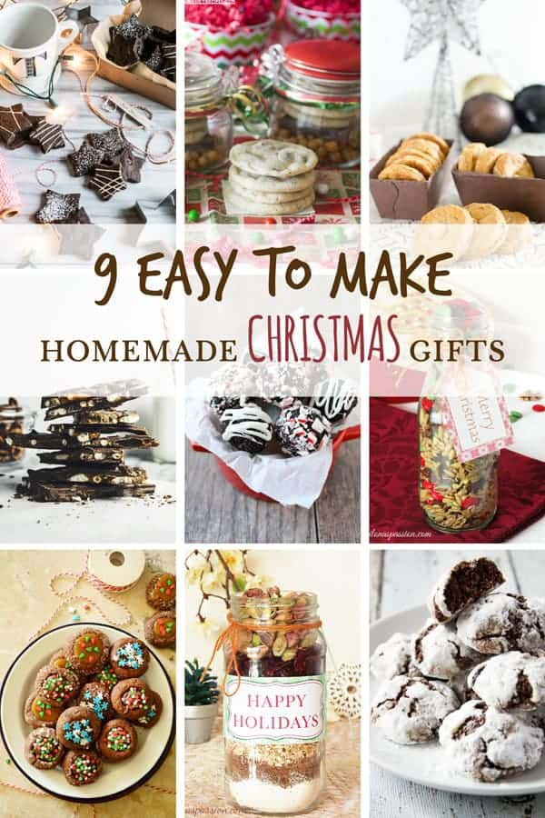 9 Easy to make Homemade Christmas Gifts - Ilona\'s Passion