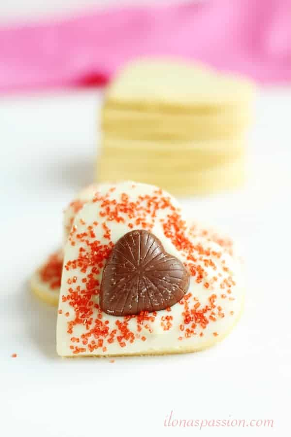 White & Milk Chocolate Butter Cookies