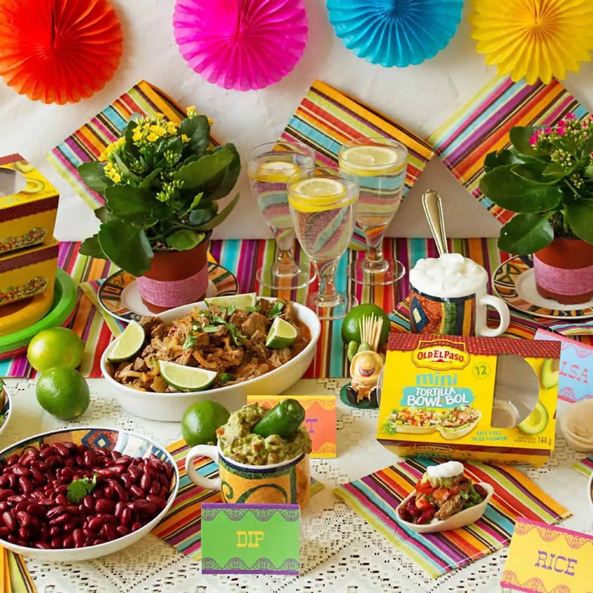 mexican buffet menu ideas - ilona's passion