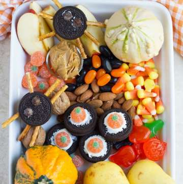 Halloween treats and candies.