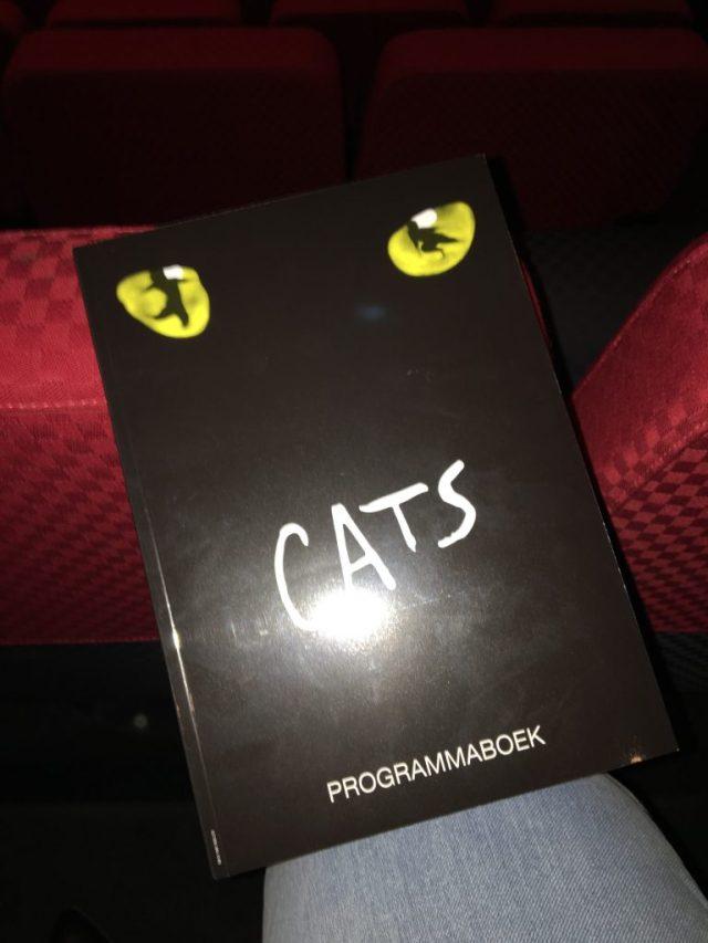 Programmaboekje Cats