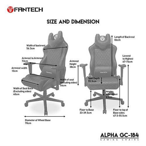 fantech alpha gc 184