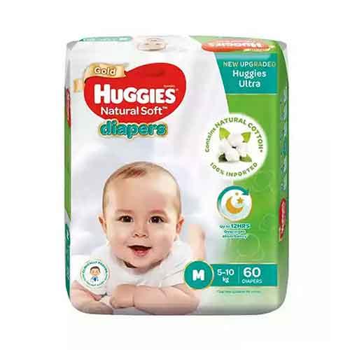 huggies ultra belt m 60 pcs 5-10kg