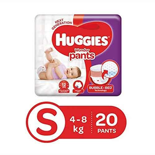 huggies wonder pants small size diapers