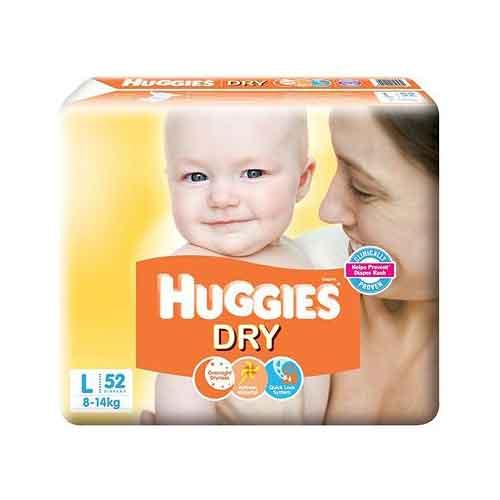 huggies dry large size diaper