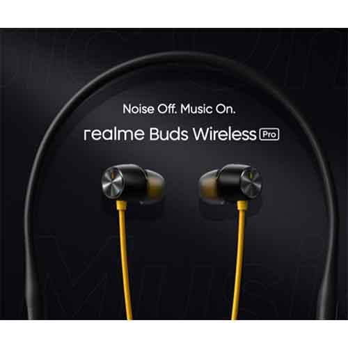 Realme Neckband Buds Wireless Pro