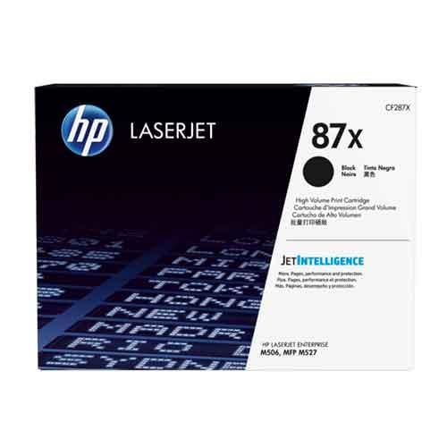 HP 87X High Yield LaserJet Black Toner Cartridge