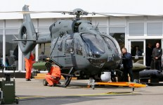 Wojskowa wersja śmigłowca H145 wyposażona wsystem HForce | The military version of the H145 helicopter equipped with the HForce system