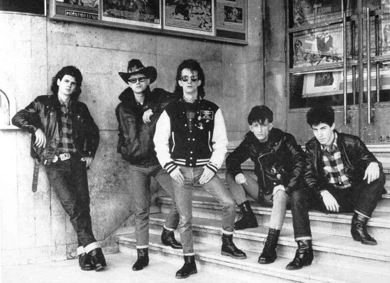 Movida madrileña en los años 80