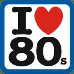 logo i love 80s
