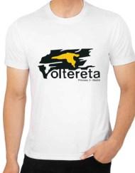 VOLTERETA BLANCA - Camiseta VOLTERETA Blanca