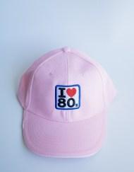 Gorras I love 80s Rosa 1 - Gorra I LOVE 80s Rosa