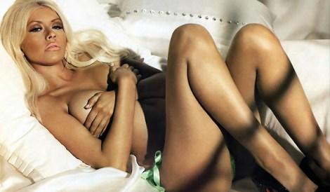 Christina na Maxim em 2007