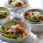 Spaghetti with Rocket and Pancetta