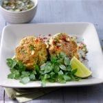 Fish-Cakes-with-Chilli-and-Coriander-Sauce