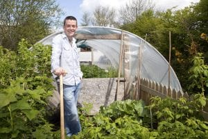 Michael Kelly, Dunmore East, Co. Waterford. Grow It Yourself.PIC: DOL