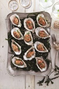 Small Baked oysters with bacon_0303