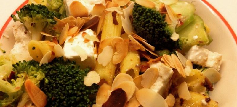 I Love Detox recept glutenvrije pasta met broccoli en amandelen