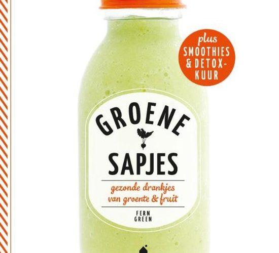 Groene sapjes met smoothies en detox kuur. Boekreview