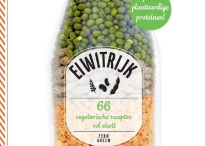 Eiwitrijk Fern Green. 66 vegetarische recepten vol eiwit. Het boek is een aanrader in je detox kuur.