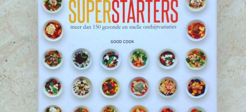 Gezond en snel ontbijt?Lees Superstarters van David Bez, makkelijk kookboek vol zoete en hartige detox ontbijt recepten