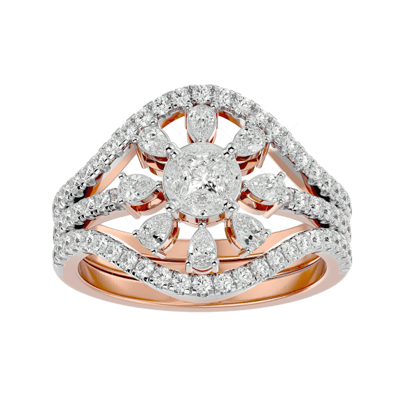 Sparkling Beauty Solitaire Illusion Diamond Ring v2
