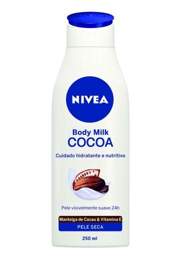 NOVO_NIVEA Body Milk Cocoa