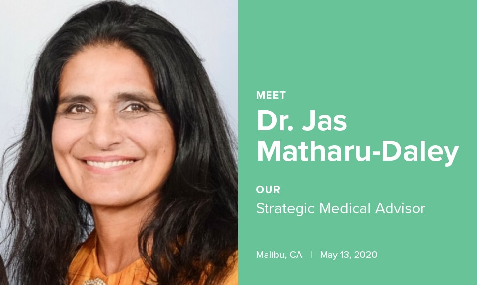 GREEN GORILLA CBD RECRUITS DOCTOR JAS MATHARU-DALEY AS STRATEGIC MEDICAL ADVISOR