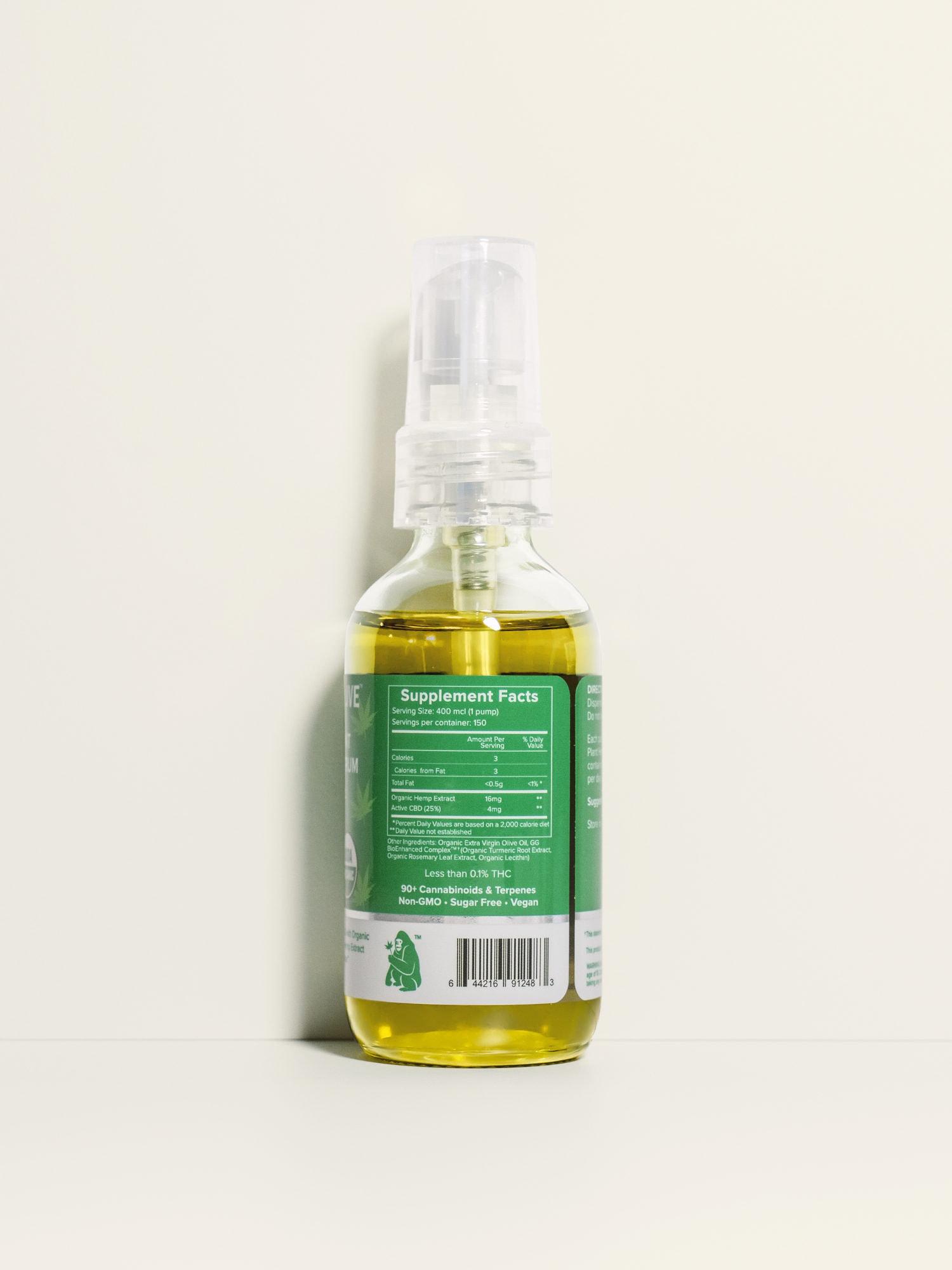 Buy USDA Certified Organic Full Spectrum CBD Oil - 2400mg