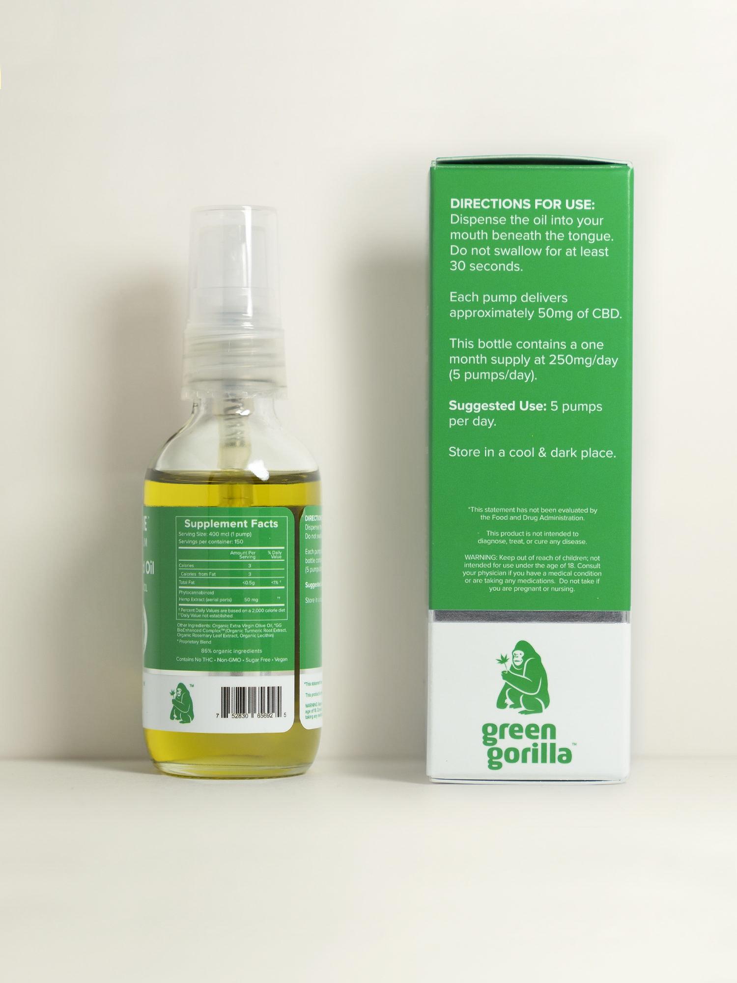 Buy USDA Certified Organic Pure Cannabidiol Oil - 7500mg