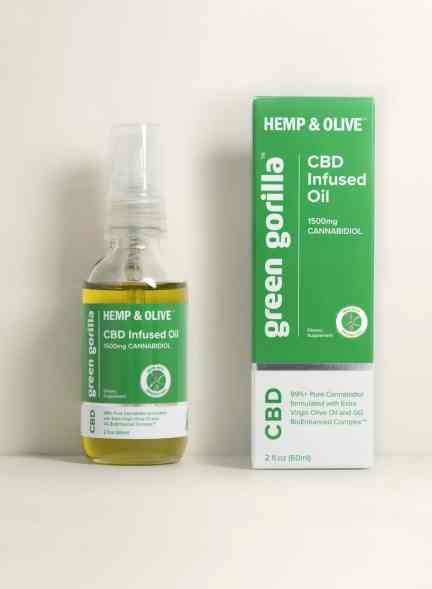 Green Gorilla USDA certified organic pure CBD 1500mg