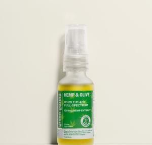 USDA Certified Organic Full Spectrum CBD Oil - 1200mg | Green Gorilla