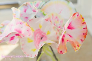 Coffee Filter Flower DIY