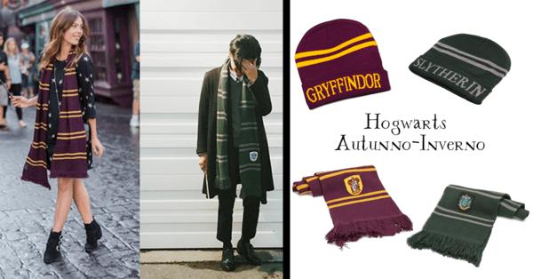 I-Love-Hogwarts-Sciarpa-Cappello-Bufanda-Gorro