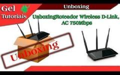 Unboxing Roteador Wireless D-Link, AC 750Mbps, – DIR-809