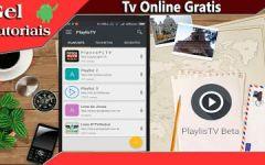 Playlistv BETA Como Ver TV Online No Seu Celular.