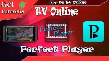 Perfect Player Premium Apk v1.4.2 com Listas IPTV Atualizado / Aplicativo De Tv Online Grátis.