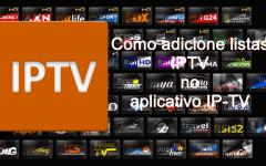 Como adicionar listas IPTV no aplicativo IP-TV (Tv Online Grátis)