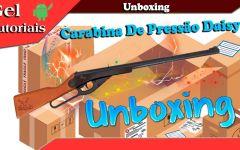Unboxing Carabina De Pressão Daisy