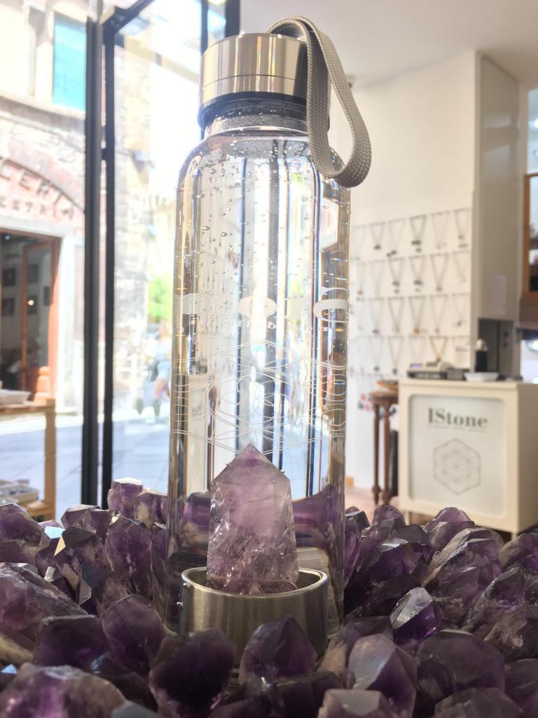 Bottiglia con cristallo, IStone Lucca