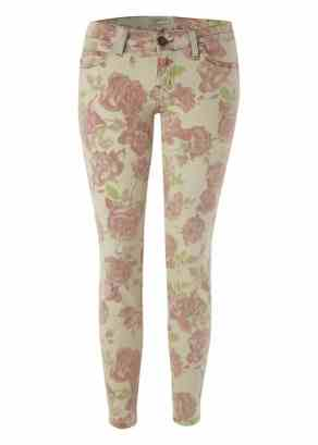 Current/Elliott The Stiletto Skinny Jean - Red Rose £195