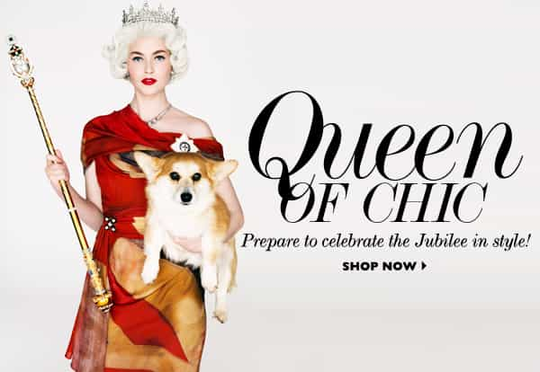 SHOP THE QUEEN OF CHIC AT NET-A-PORTER