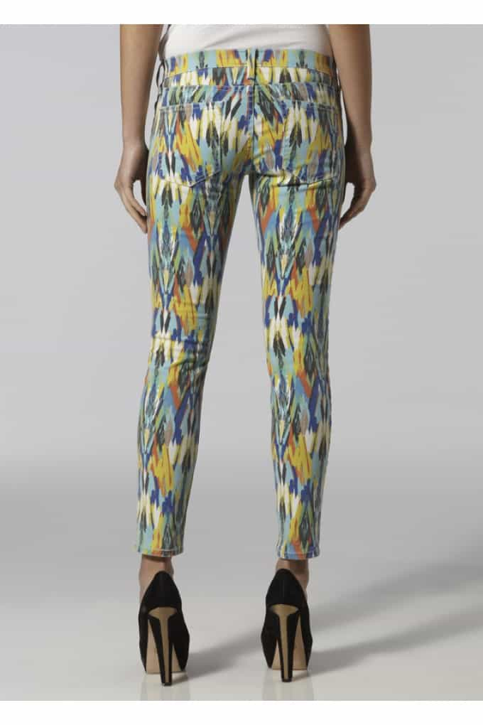 The Behind: Current/Elliott Stiletto Skinny jean - Multi Arrow  £165.00 £85.00