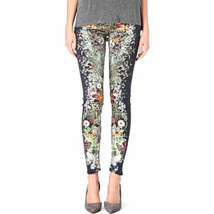 Navarra Embroidered Relaxed Skinny £168