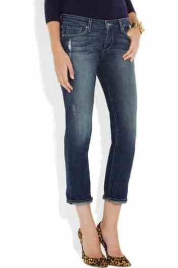 Paige James distressed boyfriend jeans £215
