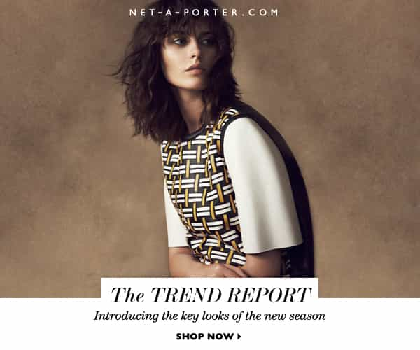 net-a-porter 2014 trend report, new season fashion